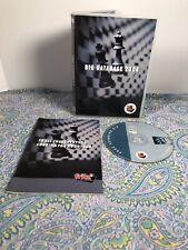 CD DATA STORAGE ~ CHESSBASE - BIG DATABASE 2004 REQUIRES: CHESSBASE 8.0 & FRITZ8