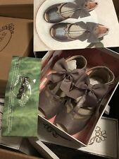 JOYFOLIE Katri in STERLING 12T Sandals Flat Shoes Holiday SOLD OUT USA