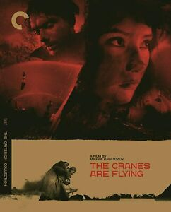 """THE CRANES ARE FLYING  (Criterion Collection) [Blu Ray]  Region """"A"""", Brand New"""