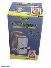 6 Pack Tetra Whisper Replacement Carbon Aquarium Filter Cartridges