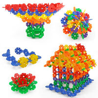 300 pcs Puzzle Flakes sets Connect Interlocking Disc - Creative Toy for Kids
