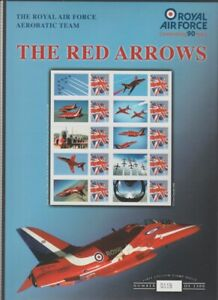 GB MINT Benham EII 2008 Red Arrows smiler sheet self-adhesive