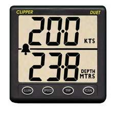 Clipper Duet Instrument Depth Speed Log with Transducer #CL-DS