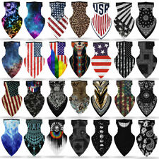 1xMotorcycle Bicycle Bandana Tube Head Scarf Neck Gaiter Face Shield Mouth Cover