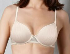 Triumph bra wired 'shiny flower forever whp' nude cream 34D