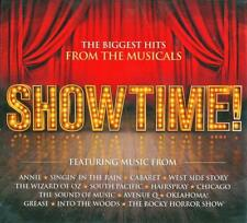 SHOWTIME! THE BIGGEST HITS FROM THE MUSICALS - VARIOUS ARTISTS (NEW SEALED 3CD)