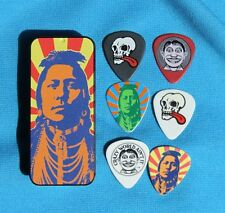 Dunlop John Van Hammersveld Indian Head Tin of 6 Heavy Picks, MPN JVHPT02H