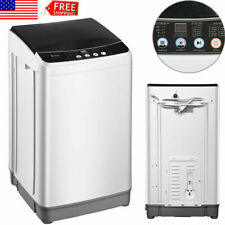 Portable 10lbs Full-automatic Washing Machine Compact Powerful Washer Air Dry