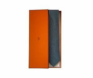 Hermes silk tie - Hermes cravatta in seta