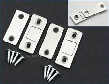 Thin 2 Sets Magnetic Cabinet Cupboard Door Fastener Latch Catch Lock Magnet