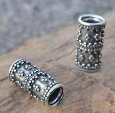 Viking BEARD SILVER Ring Moustache Vikings Pagan Rings Bead Beads Ag Jewelry SCA