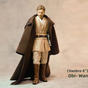 1/12th SHF Star Wars Obi- Wan Kenobi Jedi Knight Coffee Cloth Robe no figure