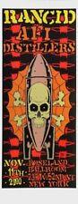 Alan Forbes - 2000 - Rancid Concert Poster Roseland Ballroom - New York City, NY