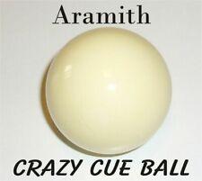 ARAMITH Crazy Joke Wobbly POOL Cue Ball 1 7/8 Inch 47.6mm - FUNNY!