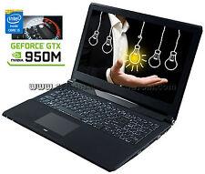 15,6 CLEVO N150SC   i5-4210H   8GB RAM   GTX 950M   SSD 120GB   WIN 10 PRO ✔