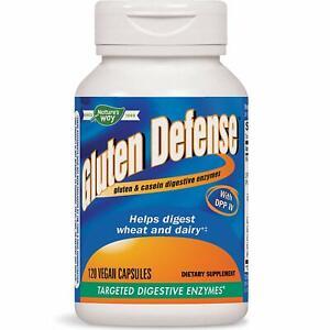 Nature's Way Gluten Defense Targeted Digestive Enzymes 120 Vegetarian Caps