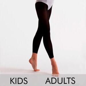 Silky Ladies Essential Footless Tights 40 Denier Black S M L