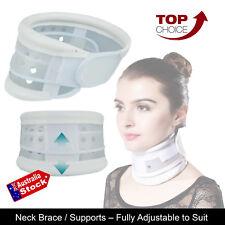 Lightweight Cervical Collar Traction Neck Brace Support Stabilise Strap Adjust