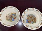 Royal Doulton Bunnykins Porridge Bowl And Soup Bowl- Set Of 2