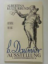 Honore Daumier Ausstellung Albertina Kulturbund
