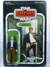 Star Wars Kenner ESB 41-D Han Solo Bespin MOC AFA 85 non perforé.
