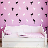 Flamingo Mural Home Wall Stickers Decal Decoration Decor Kid Bedroom Living Room
