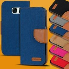 Housse de Protection Samsung Galaxy à Clapet Coque Étui Portable Pliante Livre