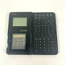 Vintage Sharp Wizard OZ-7000 Electronic Organizer Calculator Made In Japan 80s