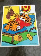 Playskool Vintage Hallmark Wooden Puzzle 1981 #330-07 TYG VGC