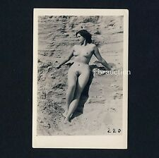 Nudism femme nue en plein air/nude woman Outdoor ver * vintage 50s photo