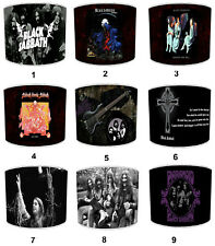 Lampshades, Ideal To Match Black Sabbath, Ozzy Osbourne Wall Decals & Stickers