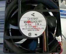 MITSUBISHI CA1619H01 MMF-12D24DS-RP1 A740 120x38mm Fan 24V 0.36A  809-1