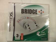 BRIDGE NINTENDO DS  IL PRIMO GIOCO DEDICATO AL BRIDGE  -  NUOVO