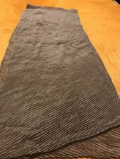 $50 Ralph Lauren scarf  Poly/Viscose Scarf  taupe oblong  R402