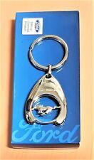Ford Mustang Schlüsselanhänger Keyrings Logo mit Einkaufschip ORIGINAL IAA 2017