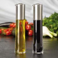 AdHoc 2er Set Ölspender Öl Sprüher Zerstäuber und Essigspender Essig Sprüher