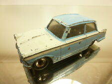 DINKY TOYS 189 TRIUMPH HERALD - BLUE + WHITE 1:43 - GOOD CONDITION