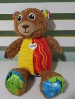 LAMAZE PLUSH TOY BEAR CRINKLES BABY TOY! TOMY 28CM! KIDS TOY IMAGINATIVE PLAY!