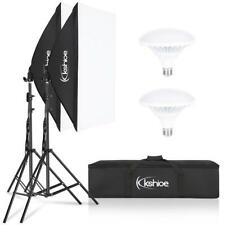 New ListingLed Photography Softbox Lighting Stand Photo Equipment Soft Box Studio Light Kit