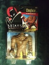 "Batman the Animated Series 6"" Clayface. Kenner, 1993. Card Issues Listed."