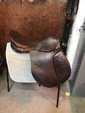 """17.5"""" Medium Fit Brown General Purpose Saddle"""