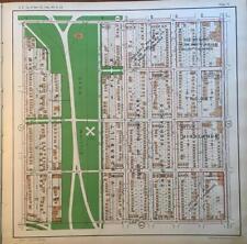 1925 S HYDE PARK KANSAS CITY MISSOURI GILLHAM ROAD MANHEIM GREEN PARK ATLAS MAP