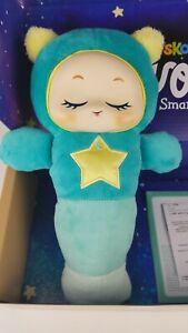 Playskool Glo Worm SmartSense Cry Sensor Voice Recordable Soft Stuffed Baby Toy