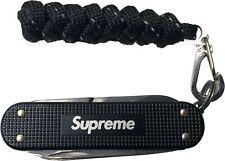 Supreme 19S/S Victorinox® Classic Alox Knife Black 100% Authentic In Hand
