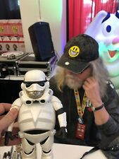 NYCC Ron English Toy Tokyo Police Gold Grin Trooper Pearl Chase Embellished 1/1!