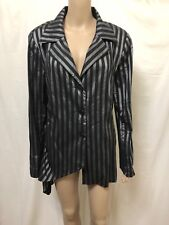 NIC BY NICOLA WAITE JACKET COAT WOMENS ~ SIZE 4 OR 16 ~ EXC COND SCRUNCHED LOOK
