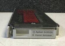 Agilent HP Keysight 34902A 16-Channel High-Speed Multiplexer Module