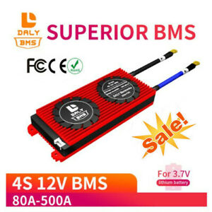 4S 12V 150A 250A 300A 400A 500A 3.7V Li-ion 3.2V LiFePo4 Battery BMS Board IP65
