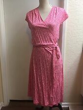 Old Navy Coral Wrap Dress XL - NWT -