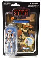 Kenner Star Wars Revenge of the Sith Clone Commander Cody VC19 Figure NIB d644